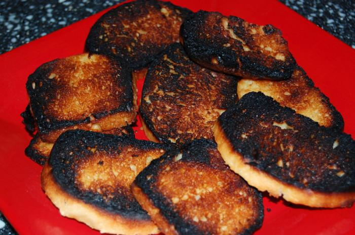 Burnt Sourdough Bread