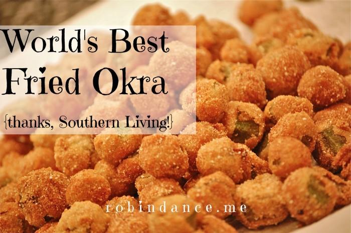 Worlds Best Fried Okra Recipe