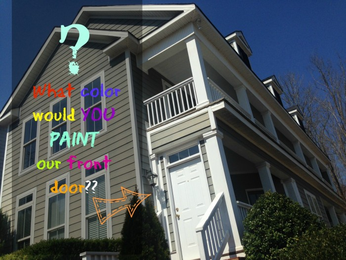 Front Door Paint Ideas