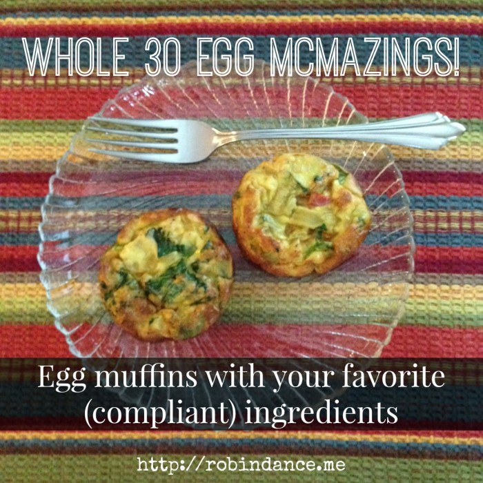 Whole30 Egg Muffins - Mini-Quiches