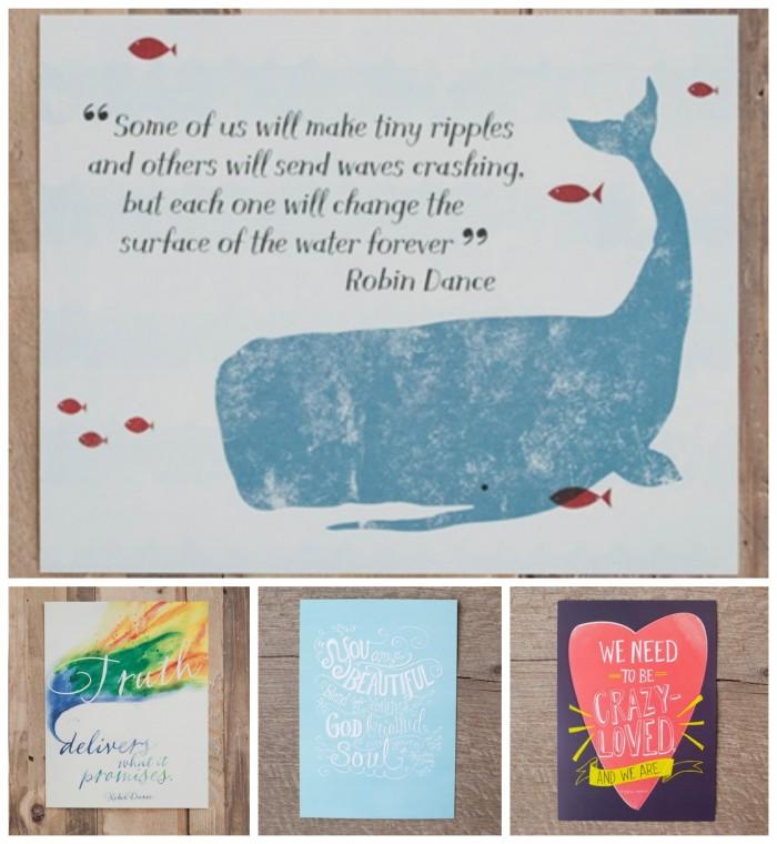Words Matter Art Prints from DaySpring
