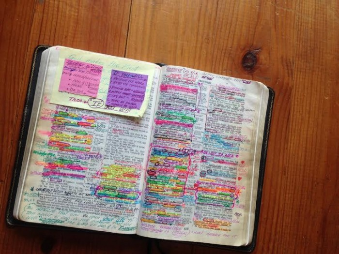 Well-read Bible