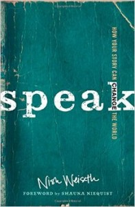Speak by Nish Weiseth