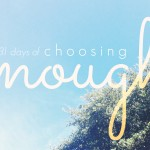 Aliza Latta - Choosing Enough