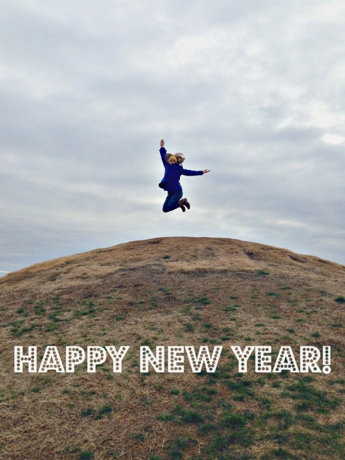 Happy New Year - Jump