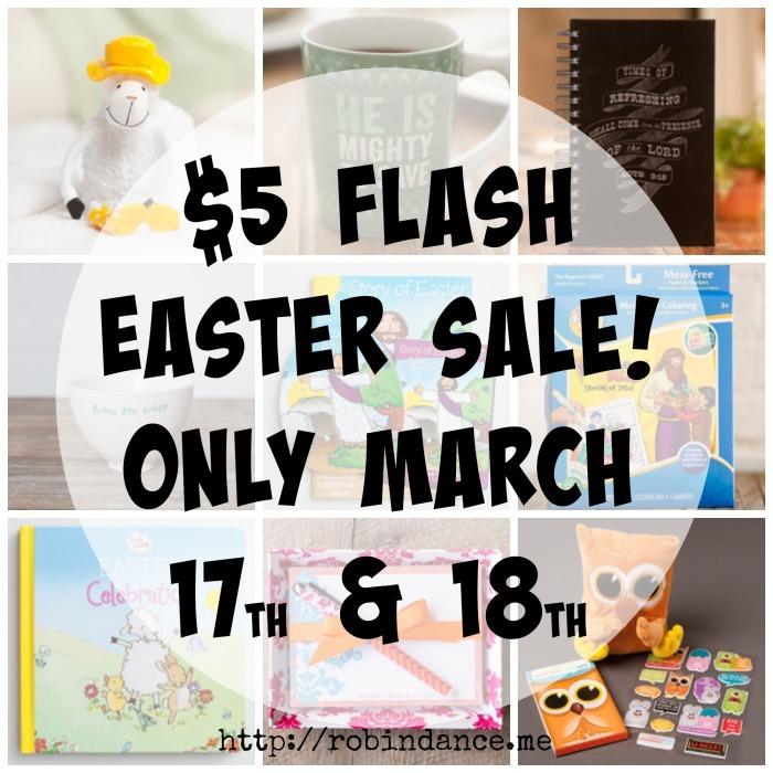$5 Easter Sale at DaySpring