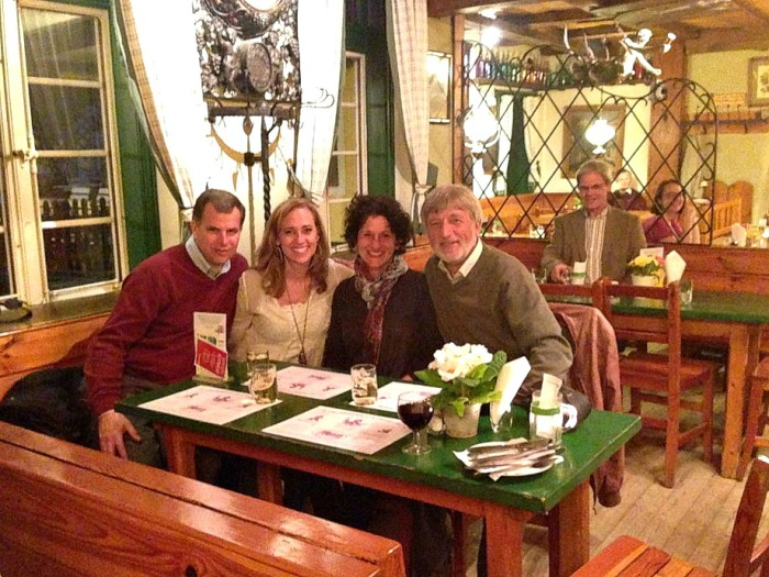 Birthday Dinner at Weingut Heuriger Reinprecht in Vienna Austria