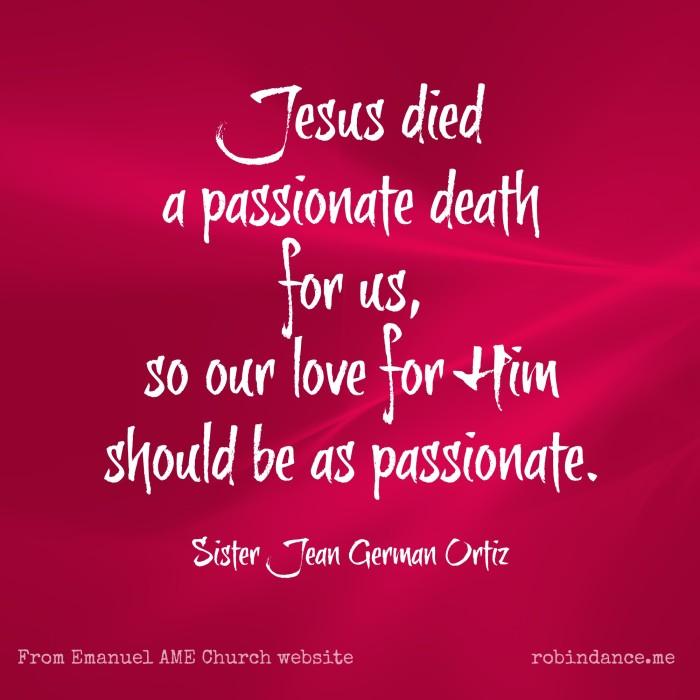 Sister Jean German Ortiz quote