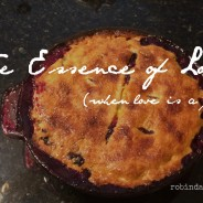 The Essence of Love || When Love is a Pie