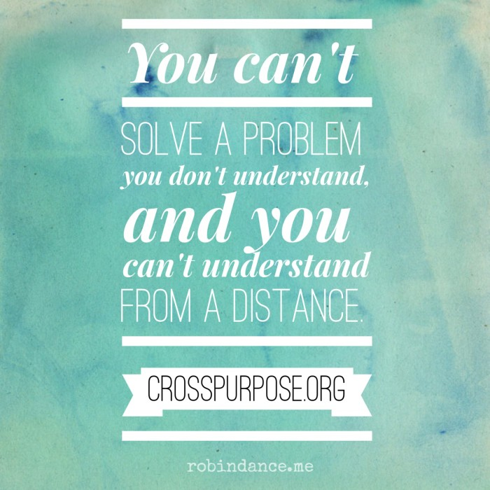 CrossPurpose Quote - Jason Janz