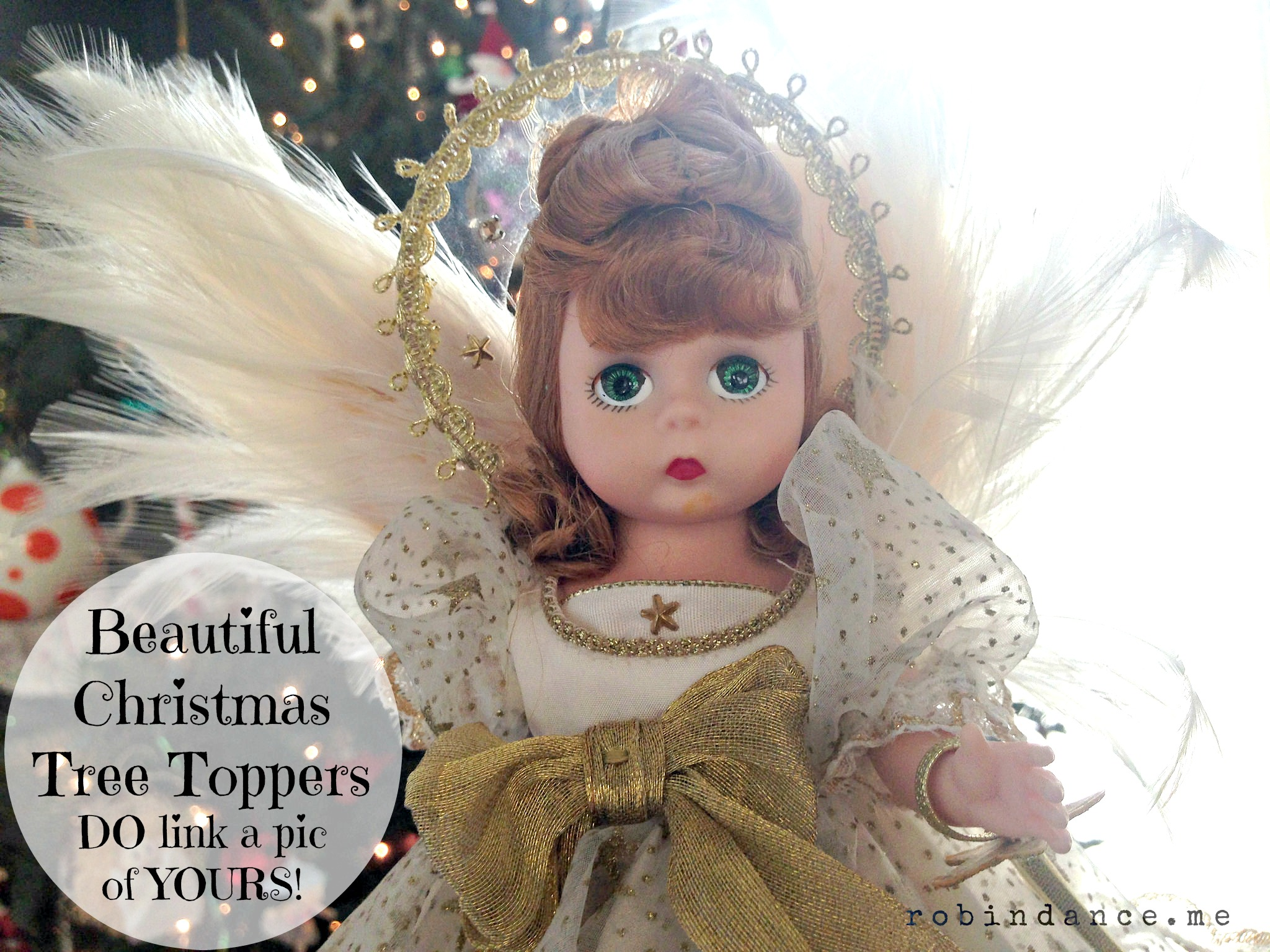 Christmas Tree Toppers – Does Yours Come With a Story? (Angel, Star, Bow – DO Tell!)