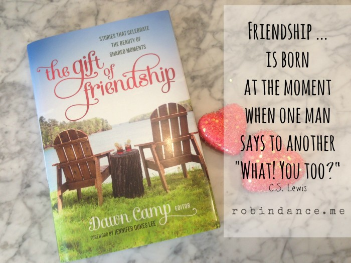 The Gift of Friendship gift book - CS Lewis Quote