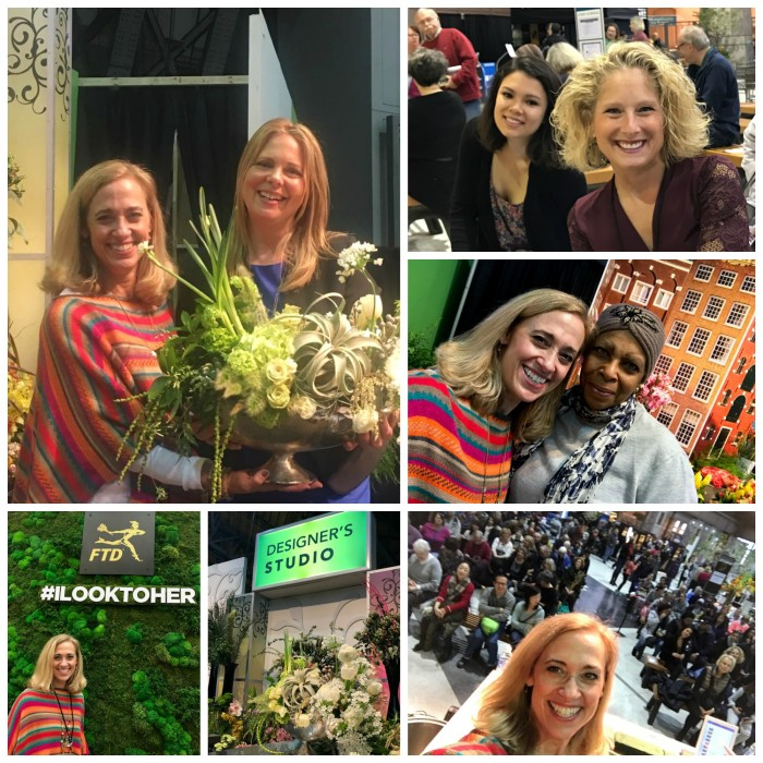 Friends at Philly Flower Show