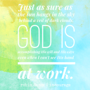 God is Working in the Waiting