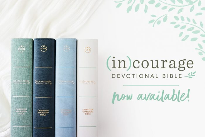 Preorder Your (in)courage Devotional Bible & Receive A Free