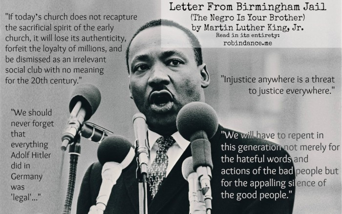 birmingham jail letter letter from birmingham the negro is your 20615